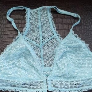 VS lacy clasp front racer back bralette